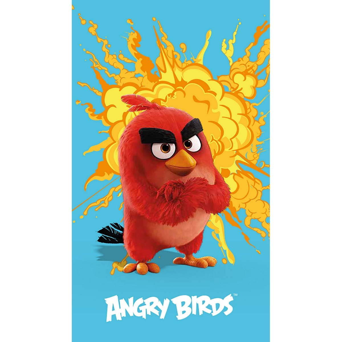 Angry Birds törölköző red 6a72eba56a